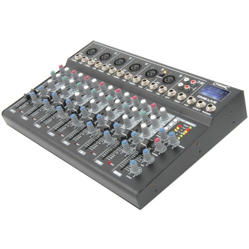 CM-live Compact Mixers with Delay + USB/SD Player