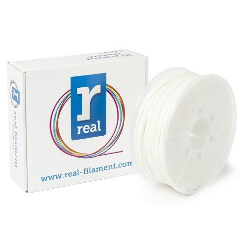 Real Filament 8719128325255 Real PLA, Spool of 1 kg, 2.85 mm, White