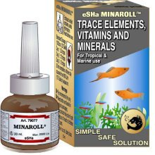 Esha Minaroll Trace Elements, Vitamins and Minerals 20ml
