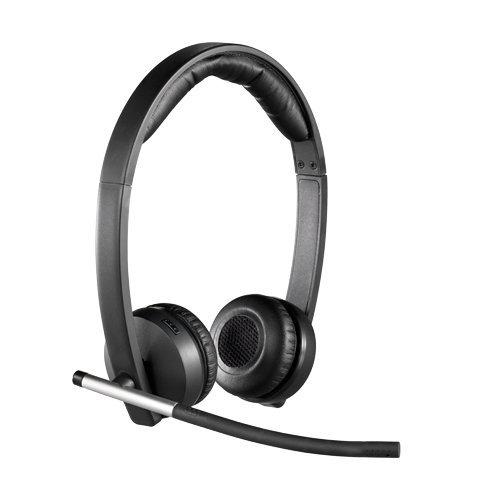 Logitech H820e DECT Binaural Head-band Black headset