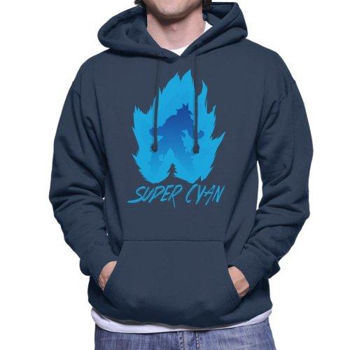 Dragon Ball Z Super Cyan Men's Hooded Sweatshirt