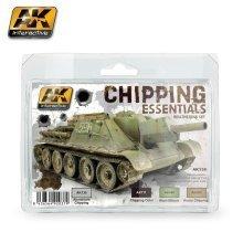 Ak00138 - Ak Interactive Set Chipping Essentials Weathering