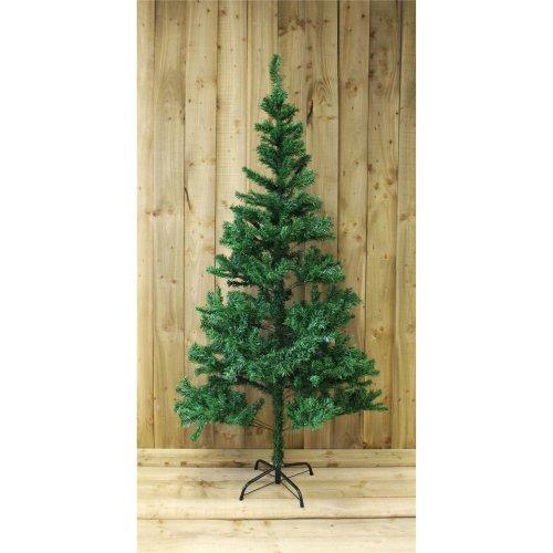 Kingfisher Festive 6ft Pine Christmas Tree in Green