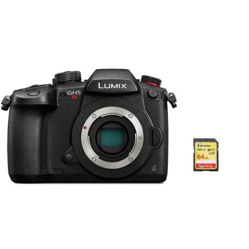 PANASONIC DMC-GH5S Body Black + 64GB SD card