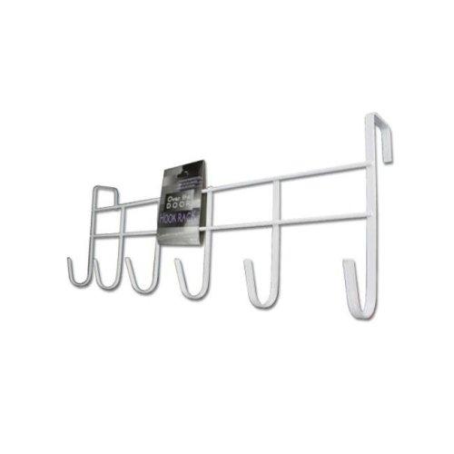 Bulk Buys HH153-80 Over-The-Door Hook Rack