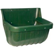 Kerbl Feed Bowl 15 L Plastic Green 32582