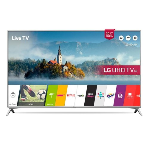 LG 55UJ651V 55 Inch SMART 4K Ultra HD HDR LED TV Freeview Play USB Record