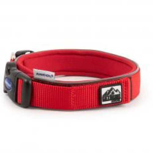 Extreme Nylon Padded Collar Red Size 3 30-34cm
