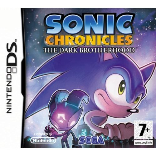 sonic chronicles the dark brotherhood nintendo ds