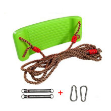 2-in-1 Snug 'n Secure Swing - Holds 331 Lbs Adjustable Hanging Ropes,#A