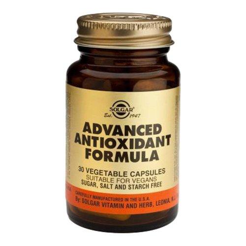 Solgar Advanced Antioxidant Formula Vegetable Capsules, 30
