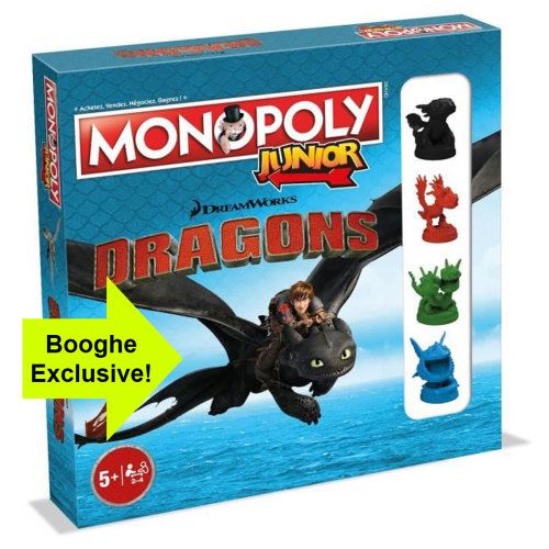 Dragons Monopoly Junior How to Train the Monopoly Board Game