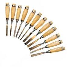 200mm Silverline Woodwork Chisel Set