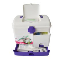 "[PURPLE] Creative Large Portable First Aid Kit Travel Medical Box, 11""x8""x9"""