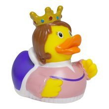 Lilalu Royal Queen Rubber Duck Bathtime Toy