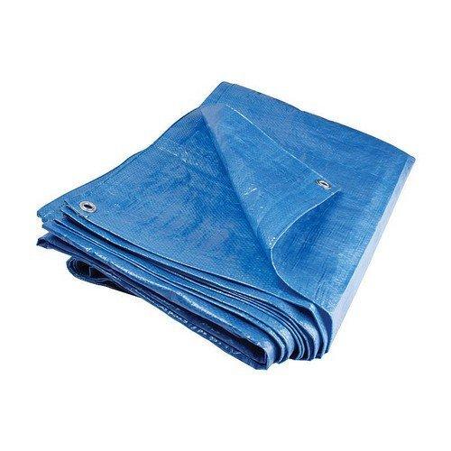Blue Tarpaulin 24ft x 18ft 80gsm