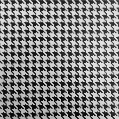 Vinyl Depot Sticky Self-Adhesive Decorative Fablon Houndstooth 450mm/m