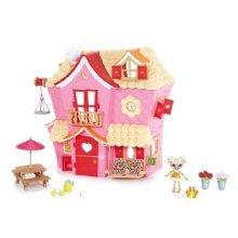 MGA Mini Lalaloopsy Sew Sweet House Playhouse with Exclusive Character