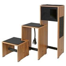 Kerbl Cat Scratching Furniture Ambiente Black 100 cm 81520