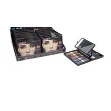Glamour Connection 39 Colour Magical Winking Eye Cosmetic Colour Set With -  magical winking cosmetic eye mirror compact shadow make up brushes new