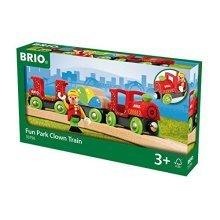 BRIO Fun Park Clown Train