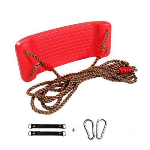 2-in-1 Snug 'n Secure Swing - Holds 331 Lbs Adjustable Hanging Ropes,#F