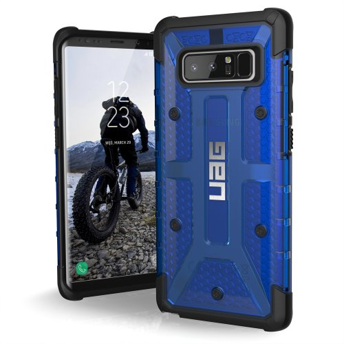 best loved 5de65 ac7df UAG Samsung Note 8 Plasma Feather-Light Rugged [COBALT] Military Drop  Tested Phone Case