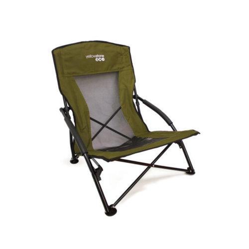 Yellowstone Adventurer Folding Chair Green