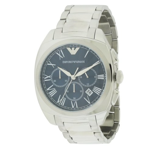 Emporio Armani Stainless Steel Chronograph Mens Watch AR1938
