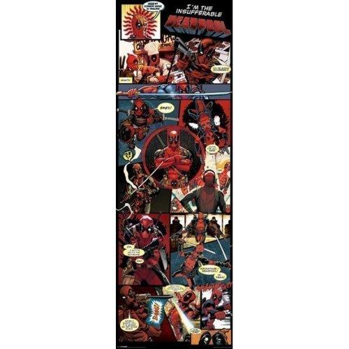 Poster Puerta Deadpool Panels