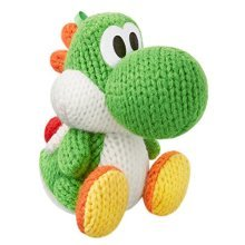 amiibo Green Yarn Yoshi (Yoshi's Woolly World Series) for Nintendo Wii U  Nintendo 3DS