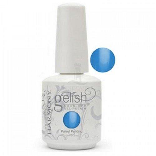 Harmony Gelish -   Soak Off Gels Nail Polish -  Ooba Ooba Blue- 15ML