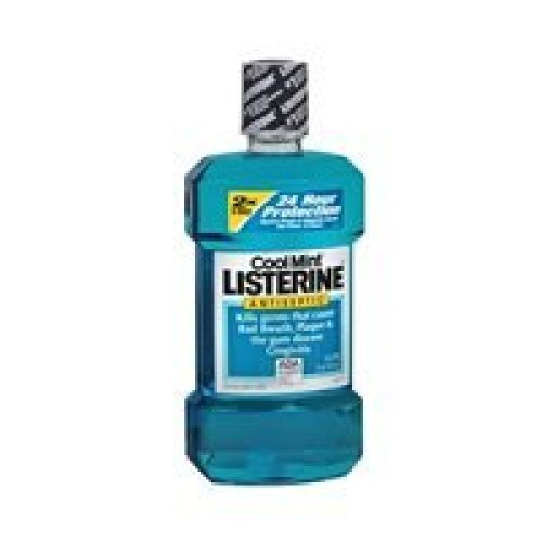 Listerine Listerine Antiseptic Mouthwash Coolmint Coolmint 166666 oz (Pack of 4)