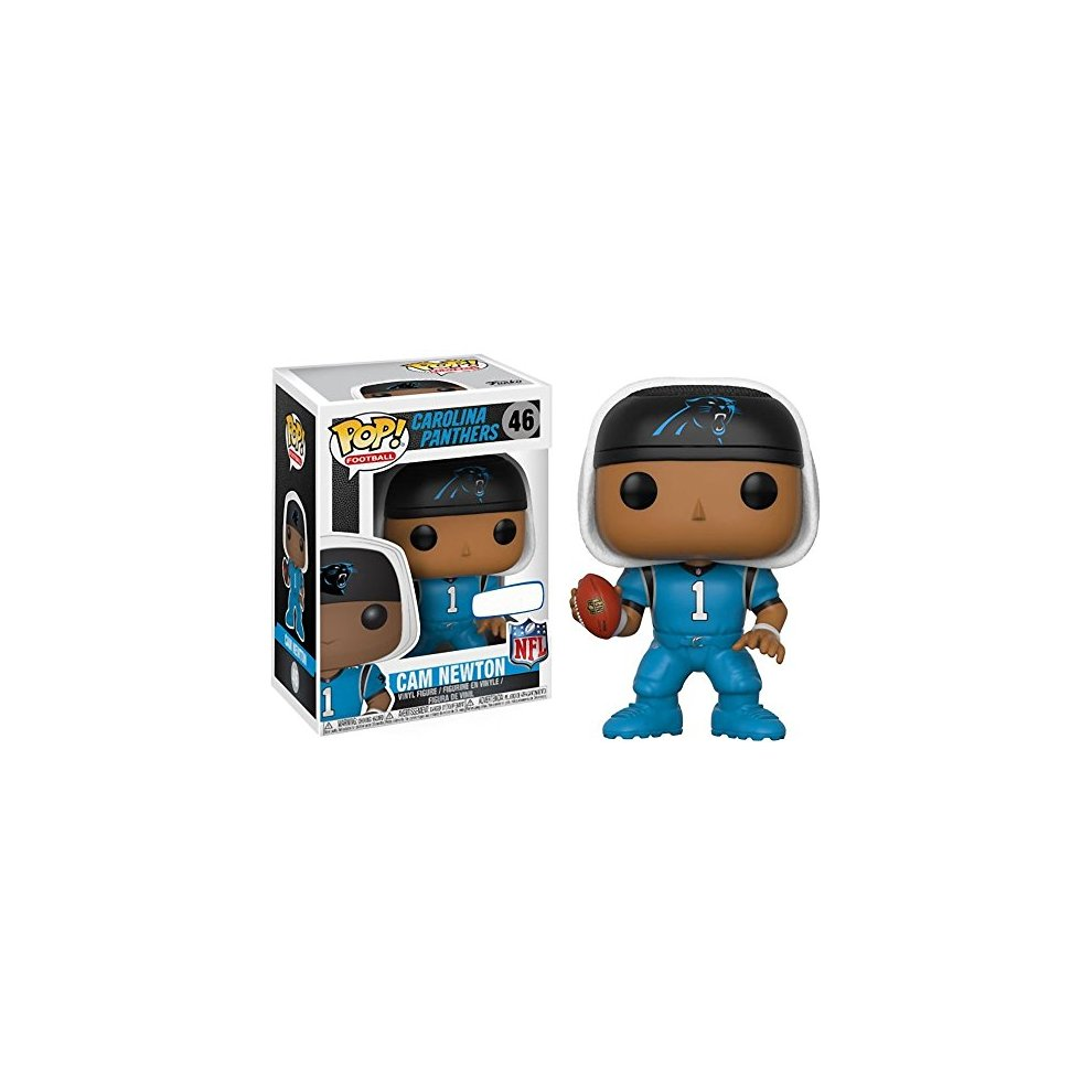 san francisco 672a8 dfea3 Funko Pop Football Carolina Panthers Cam Newton 46 (Color Rush Uniform)