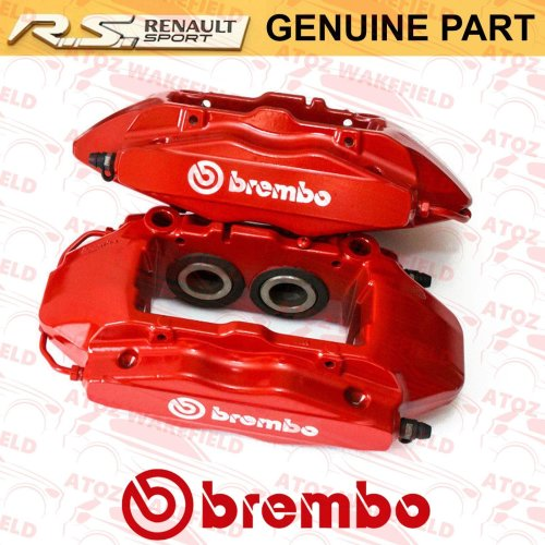 FOR RENAULT CLIO SPORT 197 200 MEGANE 225 MK2 RS SPORT FRONT BRAKE CALIPERS OE