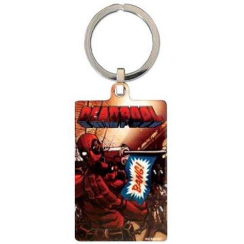 Officially Licenced Deadpool Metal Keyrings Keychain Key Chain Marvel Comics