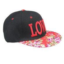 Red-Baseball Cap LOVER Hip-Pop Hat Youth Baseball Hats for Girls