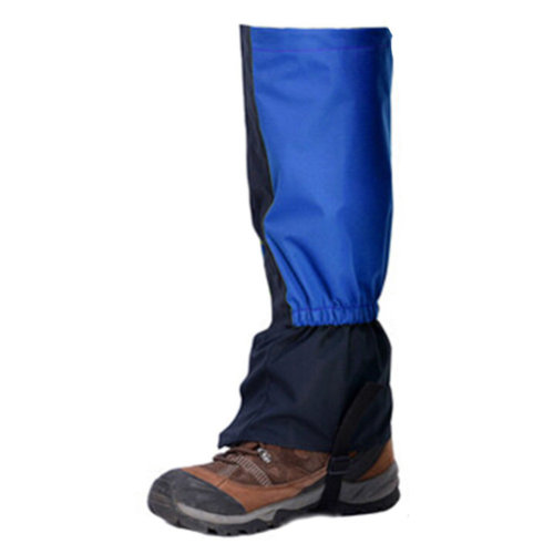 Blue 1 Pair, Outdoors Running Gaiters Podotheca Waterproof Binding Foot Strap