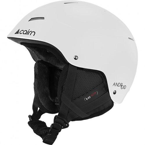 Cairn Android Matt White Helmet Adult 59/60