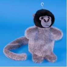 Dowman Woolly Monkey Hand Puppet Soft Toy 28cm