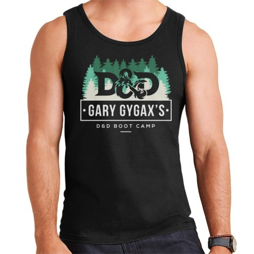 Dungeons And Dragons Gary Gygax Boot Camp Men's Vest