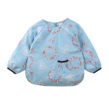 Lovely Baby Bibs Feeding Bib Kid's Apron Overclothes Waterproof Long Sleeves Art Smock NO.05