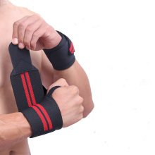 1Pcs Sports Weightlifting Wrist Support Fitness Training Wrist Bands Straps Wraps For Men