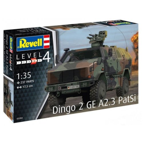 RV03284 - Revell 1:35 - Dingo 2 GE A2.3 PatSi
