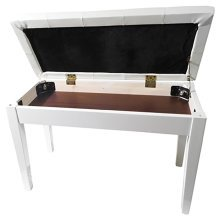 Piano or Keyboard Bench with Storage Compartment