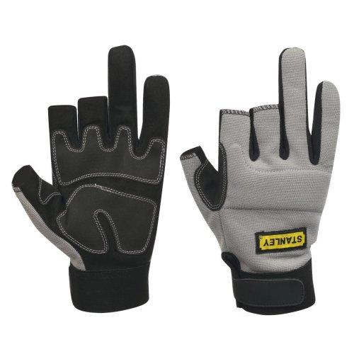 Stanley Performance 3-Finger Framer Gloves Grey