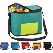 Large 13L Cooler Cool Bag Box Picnic Camping Food Drink Festival Shopping Ice[Purple]