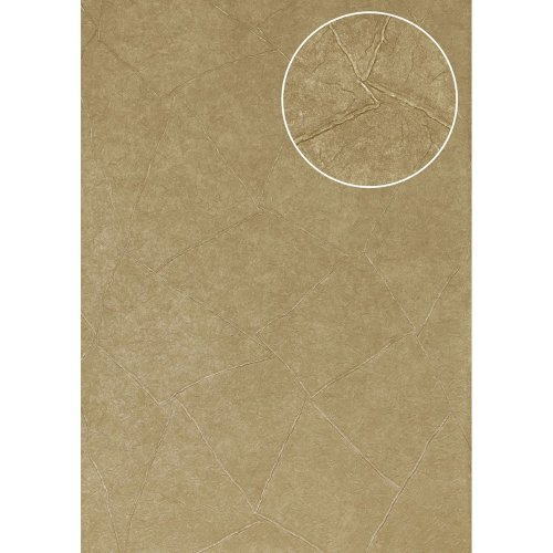 Atlas INS-5079-6 Render look wallpaper metallic effect grey-beige 7.035 sqm