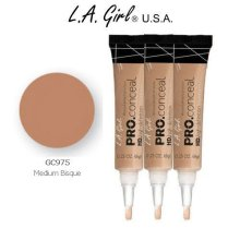 L.A. Girl Pro Conceal HD 975 Medium Bisque (6 Pack)