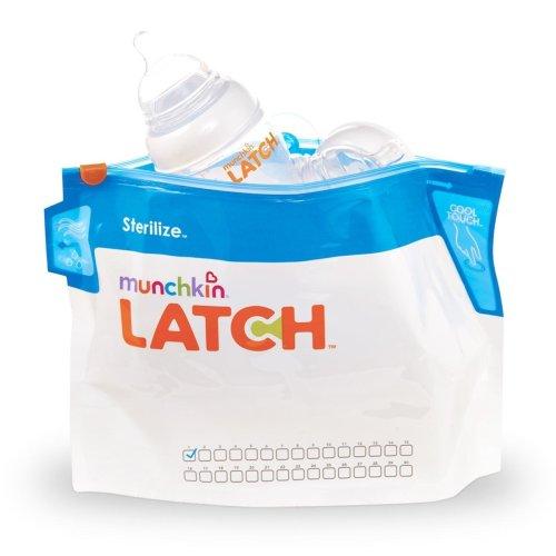 Munchkin Latch 6 Pack Steriliser Bags